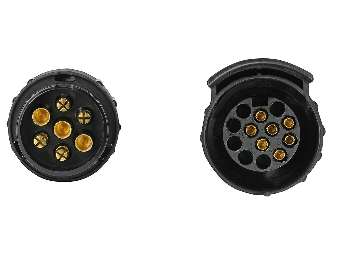 Kurzadapter Mini 7 auf 13-polig