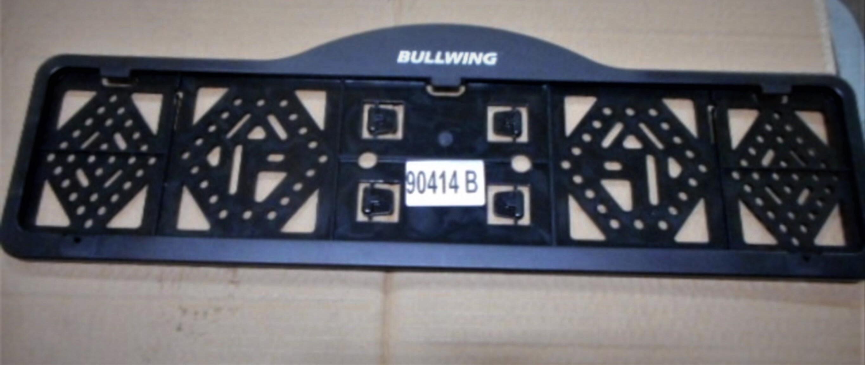 Bullwing Kennzeichenhalter