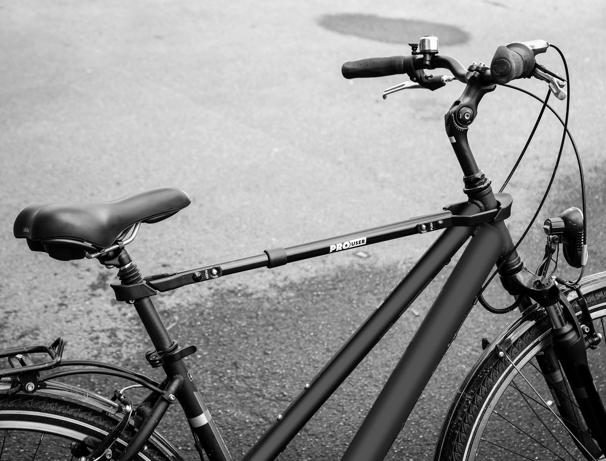 Fahrradrahmenadapter für Damenräder