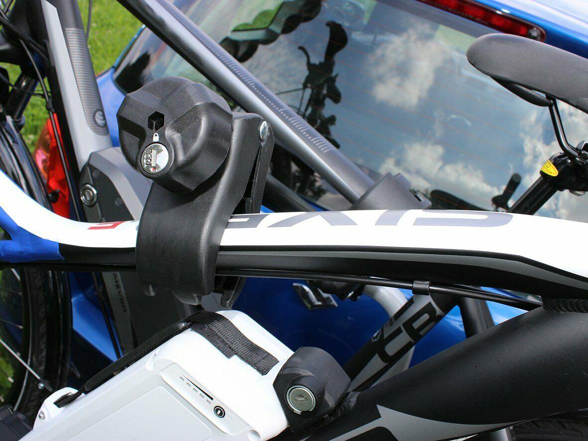 Bullwing Rahmenhalter abschließbar lang Ø 2,5-3 cm