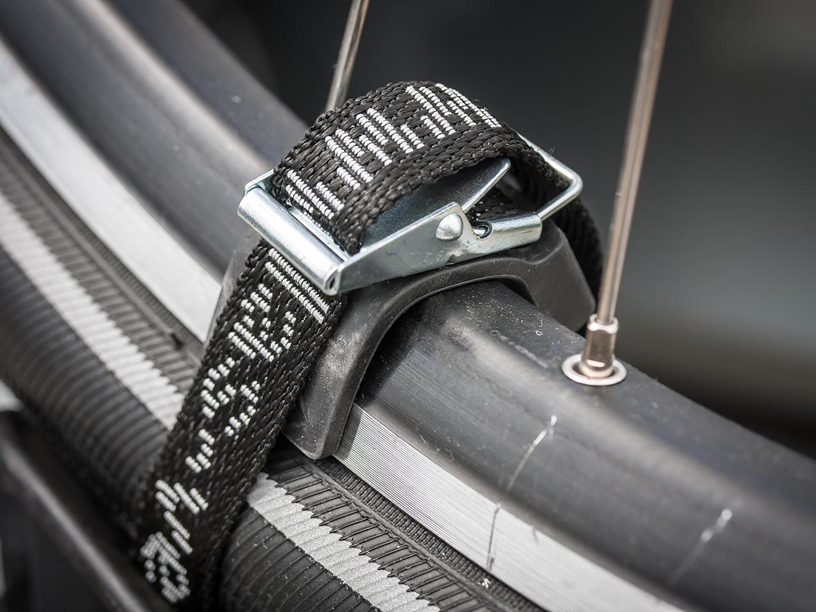 Textilspanngurte im Set 4 Stück für Fahrradträger