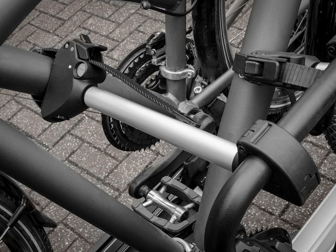 Bullwing E-Bike Rahmenhalter abschließbar lang Ø 2,5 cm