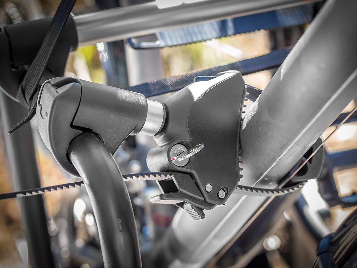 Bullwing E-Bike Rahmenhalter abschließbar kurz Ø 2,5 cm