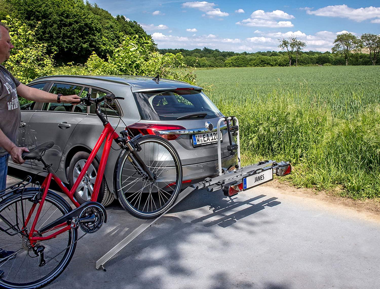 Auffahrschiene für Fahrradträger